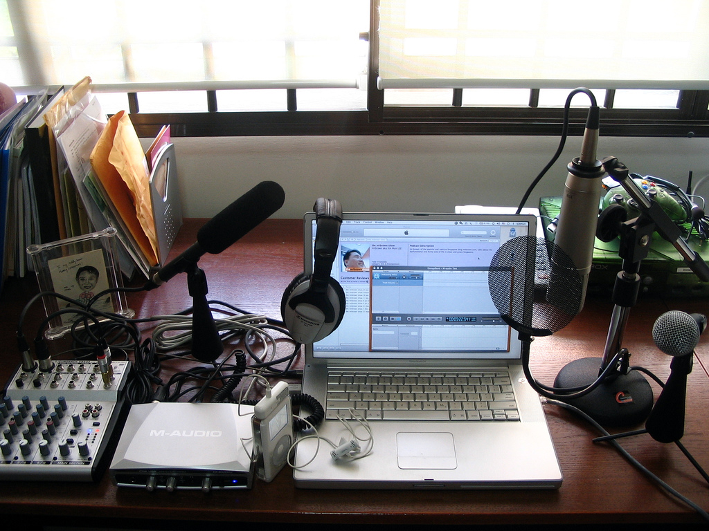 Recording Streaming And Podcasting Worship Services