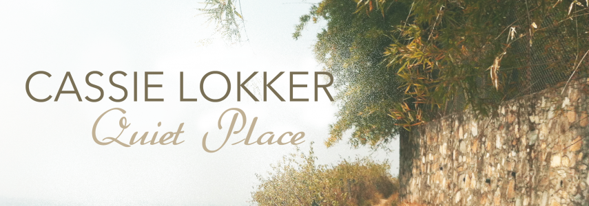 Quiet Place Cover Image of a dirt path surrounded by lush greenery