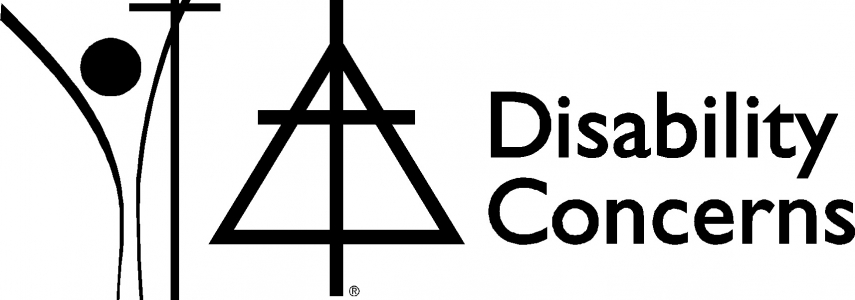 "CRC and RCA Logos with the words ""Disability Concerns"""